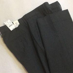 NWT J Crew Slim Bradford Cotton Dress Pants 32/34